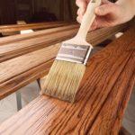 Услуги покраски дерева